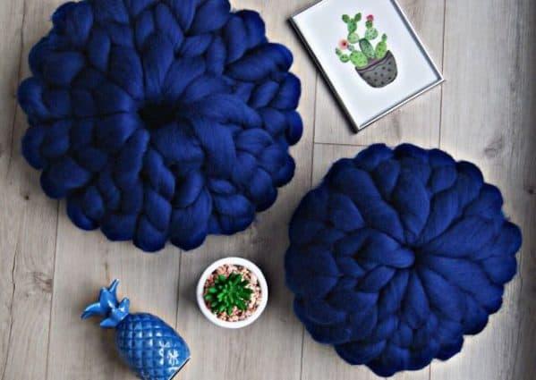 poduszka z wełny czesankowej