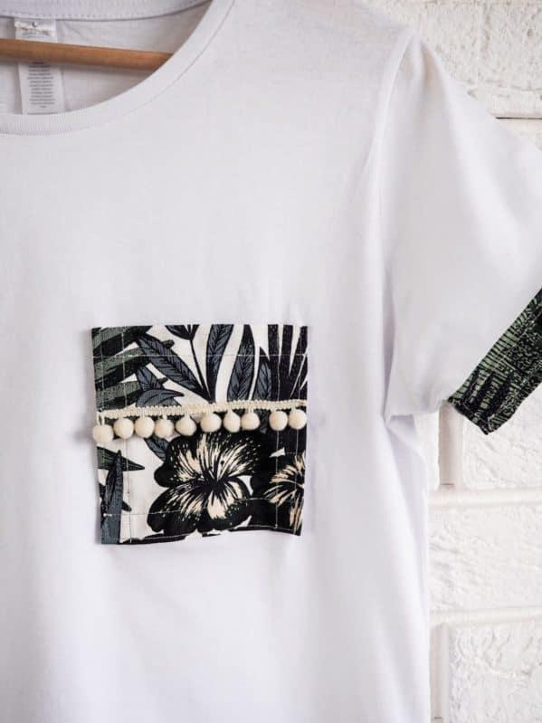 koszulka w stylu boho