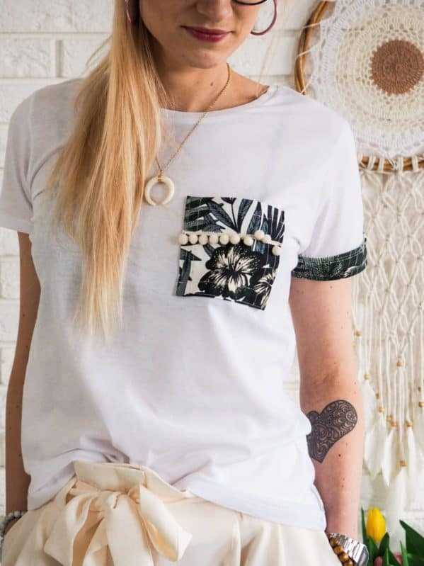 koszulka boho hand made