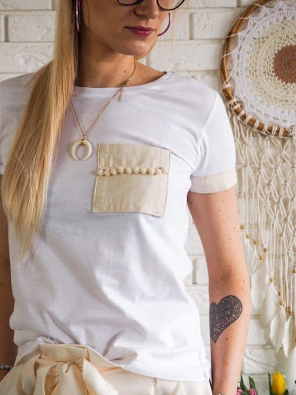 koszulka hand made boho