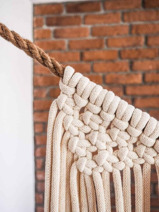 makrama ze sznurka