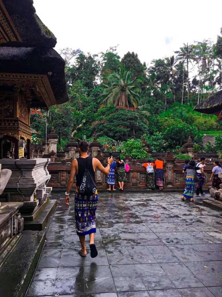 bali świątynia