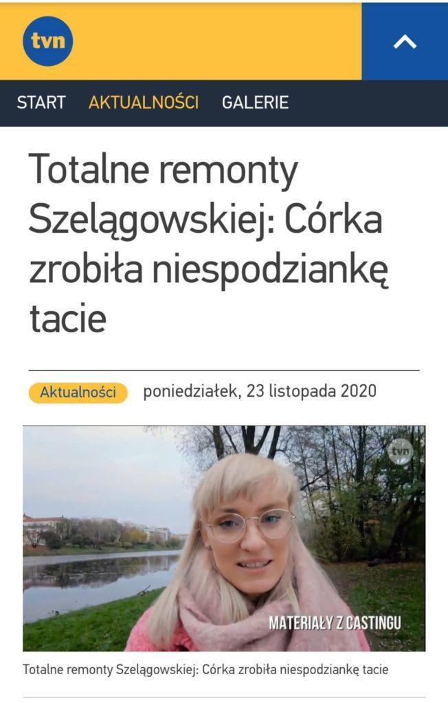 Zuza w TVN